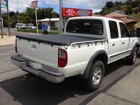 Mazda Bounty Ute Tonneau, Nelson, New Zealand