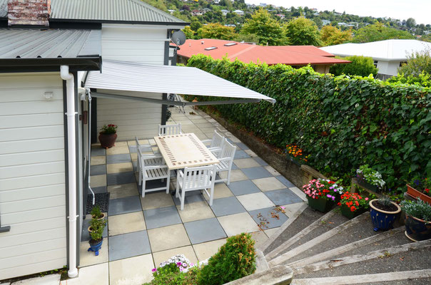 Sunbara Retractable Awning, Nelson, New Zealand
