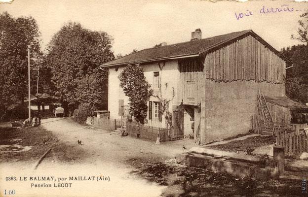 Le Chevril: Maison Goyffon sur la place