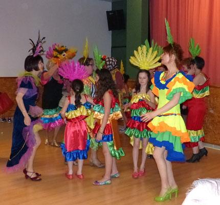 """Danse brésilienne par """"Inter-Générations"""