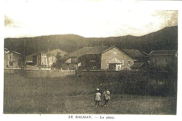 Place du Balmay: Depuis propriété Mage ou Jean-Michel Tissot