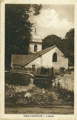 Vieu d'Izenave: Eglise côté EST