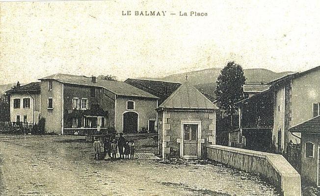Place du Balmay: Le poids public