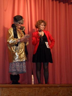 Marie et Laura les présentatrices