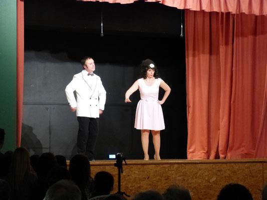 Dino et Shirley par les Comedie'Ain de St Martin du Fresne