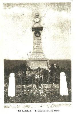 Le Balmay: Monument aux morts