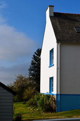 La maison d'hôtes arbore ses nouvelles couleurs Morbihanaises ! Blanc et bleu !