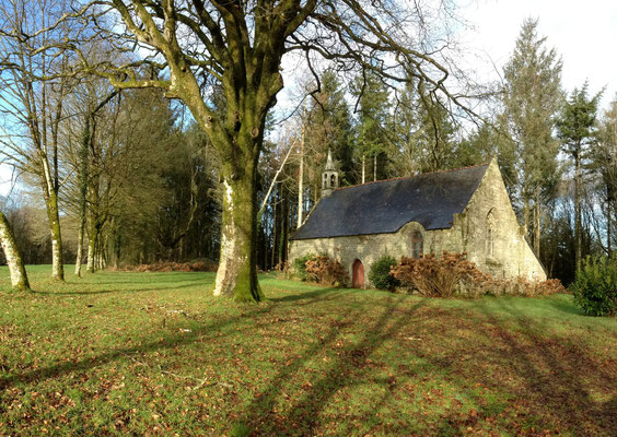 la chapelle Saint-Michel à Ploërdut