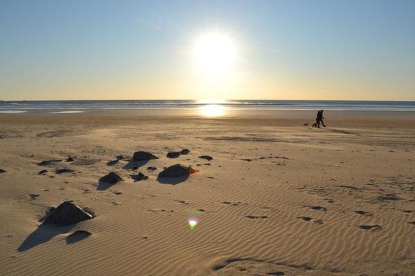 Les longues plages de sable de la côte du Morbihan à moins d'1 heure de la maison !