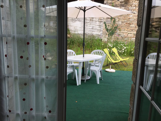 Une seconde terrasse privative