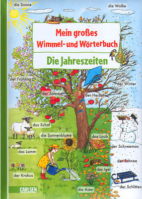 Jahrsezeitenwimmelbuch Carlsen Verlag