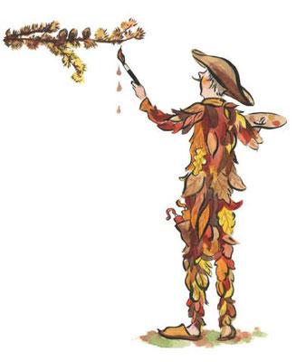 Der Herbst malt die Blätte bunt. Baum des Jahres 2012