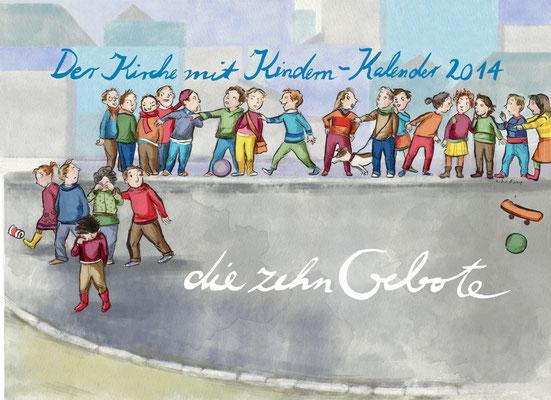 Der Kirche mit Kindern Kalender (Evangeliche Kirche im Rheinland- 2009-2016)