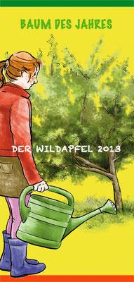 Faltblatt Baum des Jahres 2013 Der Wildapfel