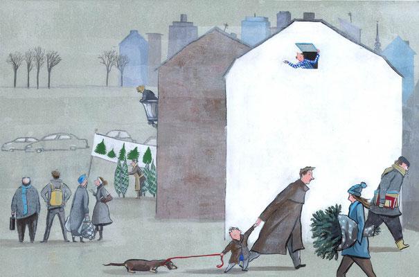 Seit Jahren hat es nicht mehr geschneit und nun ist bald wieder Weihnachten...