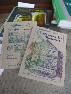 Was wäre ein Workshop ohne praktische Handbücher?