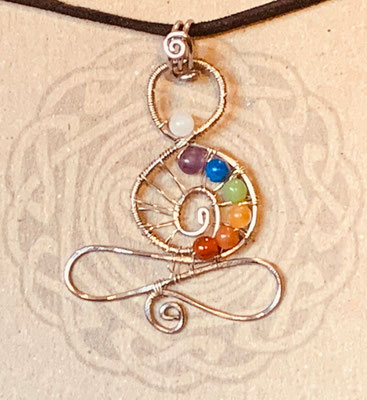 SOLD Pendant Gallery 3 Photo 16: Chakra Meditation Pendant $40