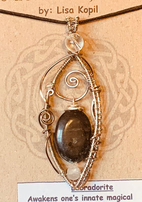 Pendant Gallery 3 Photo 15: Laboradorite $45