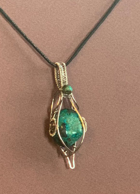 Pendant Gallery 1 Photo 3: Hawaiian Turquoise $50