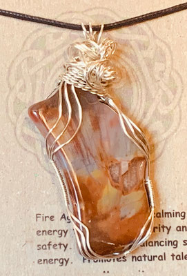 Pendant Gallery 4 Photo 4: Fire Agate $45