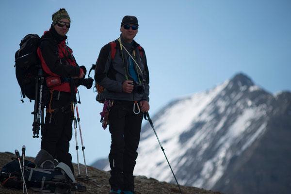 Manuel und unser Bergführer