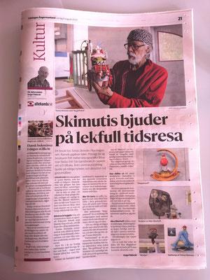 Tidningen Ångermanland 8. augusti 2020