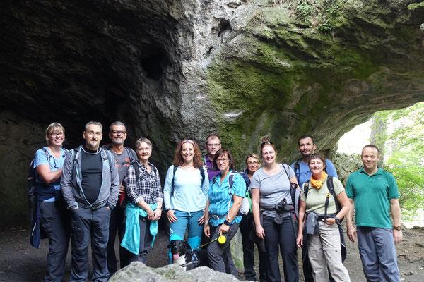 Ruine Rauheneck - Königshöhle