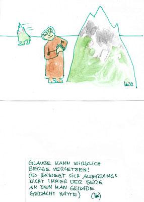 Malerei Heide Klencke Karikaturen