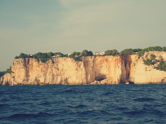 Menorcas Steilküsten