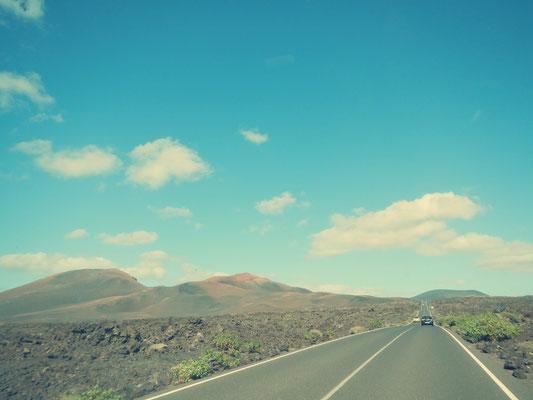 Lanzarote Vulkanlanschaft