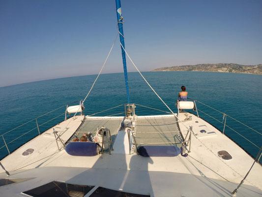 Abfahrt aus Licata