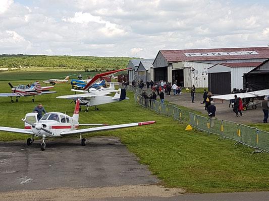 Aéro-Club de Sens - Portes ouvertes - Mai 2019