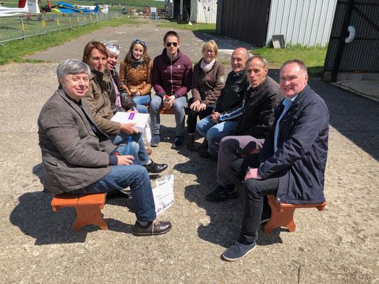 Aéro-Club de Sens - Portes ouvertes - Membres - Mai 2019