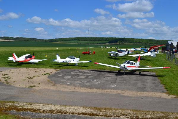 Aéro-Club de Sens - Fete de sports aériens - 11 et Juin 2019 -2