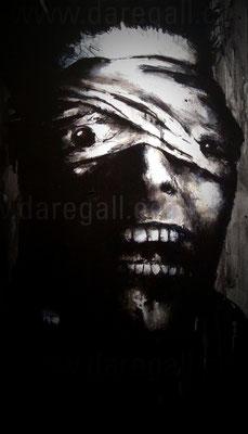 Bowie II Acrílico sobre tela 41x92 cm   ©2016 daregall.com