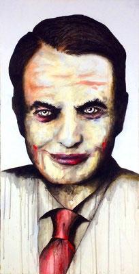 Zapatero II   Acrílico sobre tela 50x100 cm   ©2016 daregall.com