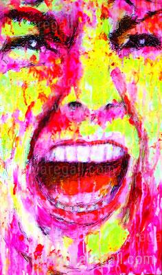 Psicosis II    Acrílico sobre tela 33x56 cm   ©2016 daregall.com