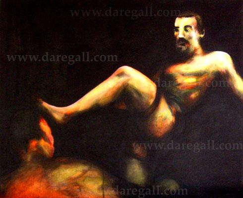 'McGregor VS Diaz III' Técnica mixta sobre tela 81x66 cm     ©2016 daregall.com