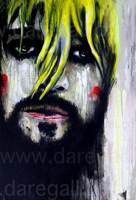Kurt IV Acrílico sobre tela 55x80 cm           ©2016 daregall.com
