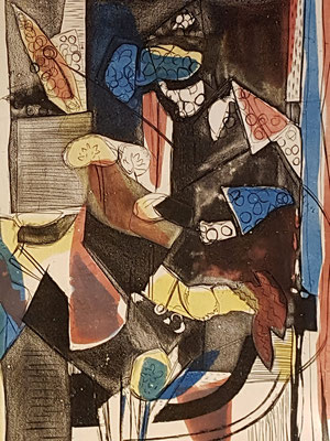 Épreuve d'artiste_2 (Parijs 1938), kleurets, 30x24 cm