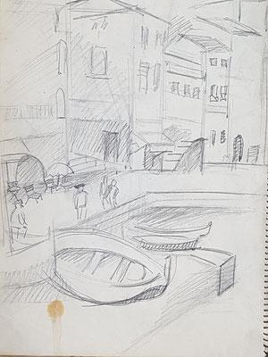 Étude Villefranche-sur-Mer (vers 1933-1934)