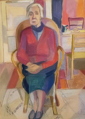 Maman_2 (Den Haag, 1957), pastel, 30x42cm
