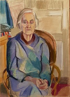 Maman_3 (Den Haag, 1958), pastel, 42x30cm