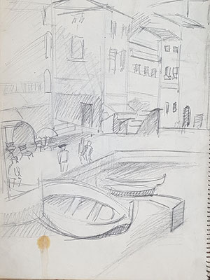 Study for Villefranche-sur-Mer (about 1933-1934)