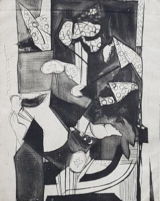 Épreuve d'artiste_1 (Parijs 1938), ets, 30x24 cm