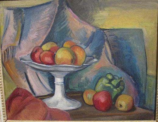 Stilleven (Parijs, 1936), olieverf, 50x40 cm