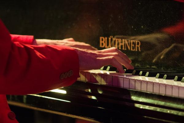 Freude am Klavierspielen