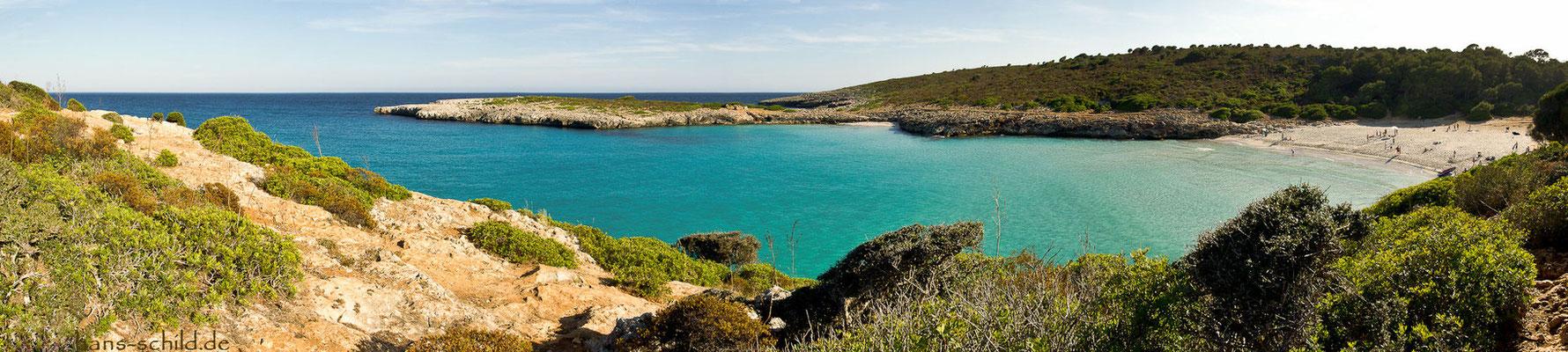 cala varques auf Mallorca
