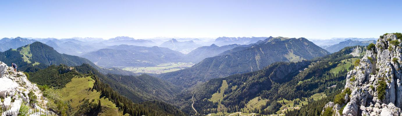 Alpen von der Kampenwand