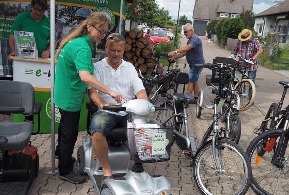 Dreirad Tandem Fun2Go für das Haus Sonnenschein